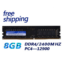 KEMBONA Factory Brand New RAM DESKTOP DDR4 8GB 8G 2400MHZ 2666 1.2V PC4 19200U desktop ram 288pin compatible with INTEL& A M D