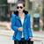 Frete grátis 2017 versão Coreana nova primavera outono inverno venda quente Magro moda feminina para baixo casaco com capuz de algodão barato por atacado