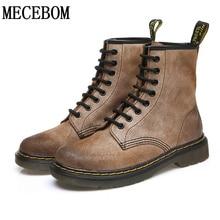 Winter Ankle Boots Women British style Boots genuine nubuck leather boots Women Autumn exquisite sapato feminino JA602W