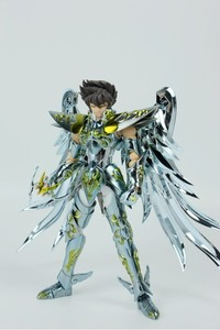 Image 3 - MODEL FANS INSTOCK GreatToys Great toys EX bronze Saint Pegasus Seiya V4 god cloth metal armor Myth Cloth Action Figure