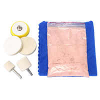 70g Glass Scratch Remover Powder Window Cerium Oxide Polishing Kit and 2 Inch Wheel