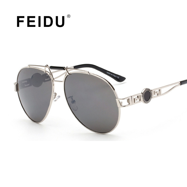 1ac3f85d112cf FEIDU Retro Sunglasses Women Popular Brand Design Sunglasses Summer Brand  Designer Sun Glasses Metal Frame oculos