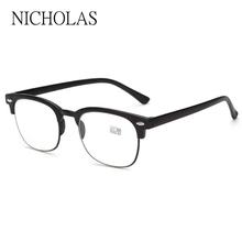 Retro Reading Glasses Men Women Ultra light Anti fatigue Hyperopia glasses Diopter glasses TR90 Eyeglass Leesbril