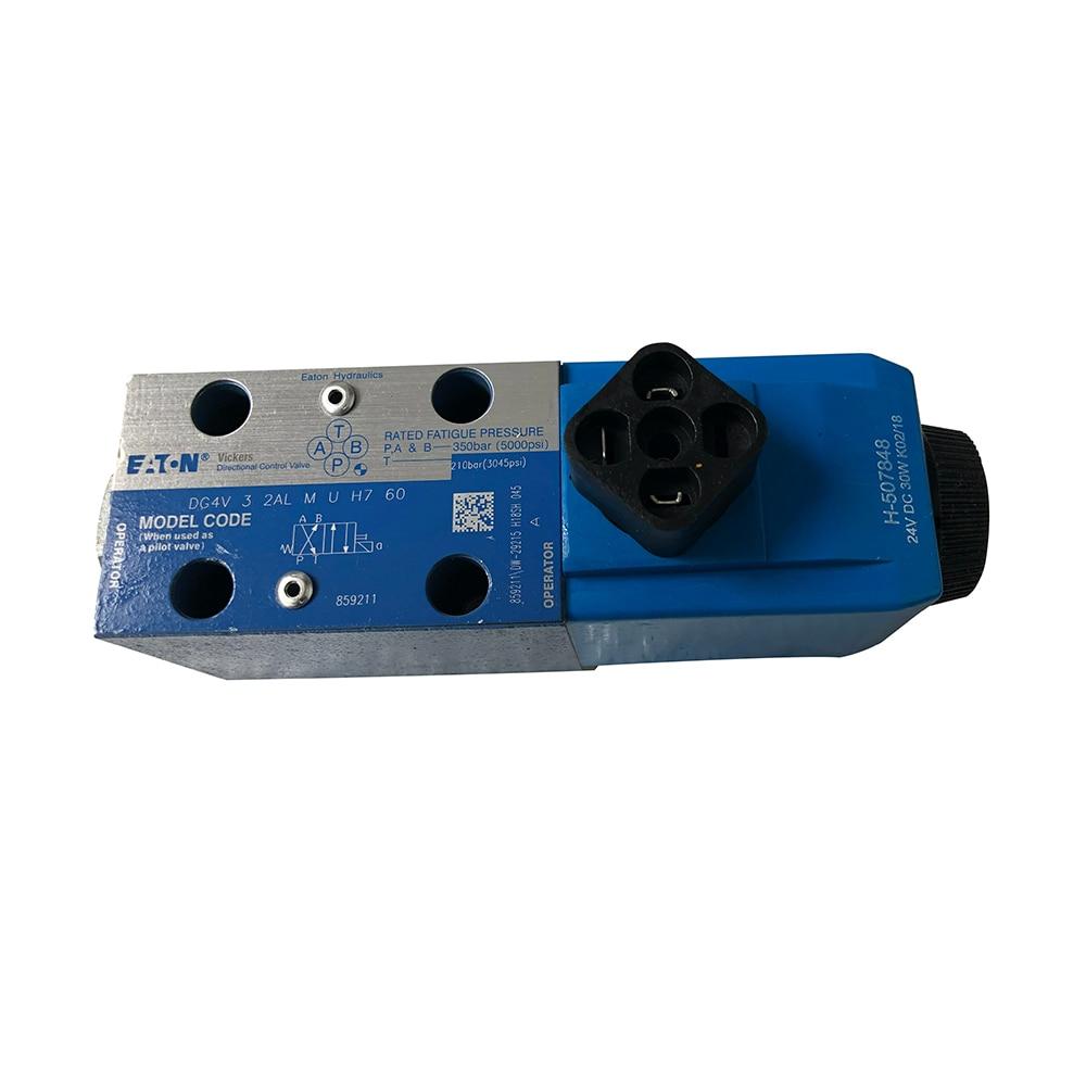 New Sealed Eaton Vickers DG4V-3-2AL-M-U-H7-60 Directional Valve 350 bar