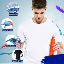 AirTic Ice Silk Quick Dry Men T-Shirt Breathable Anti-fouling Waterproof Sports