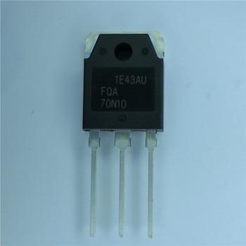 10 unids/lote FQA70N10 70A100V TO-3P en Stock mejor calidad
