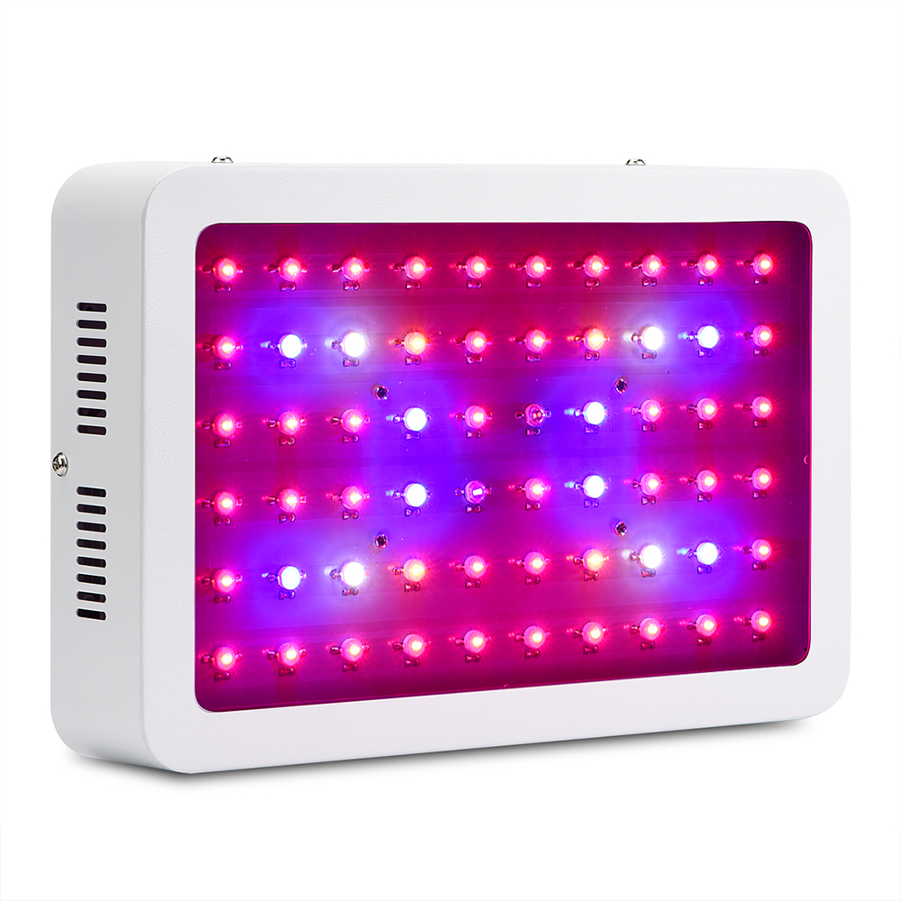 Amats Plant Grow Light 600W LED Grow Light Full Spectrum for Greenhouse Plants Veg and Blooming High Yield Grow Lights 2pcs 30mil 10w 660nm plant grow lights led chip dc6 7v 1000ma excellent quality light source for plant grow faster and batter