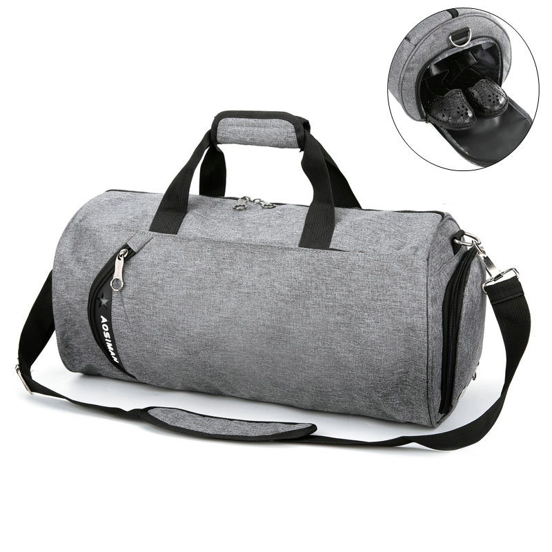 Sport bags for women fitness bag men canvas football training hangbag large capacity travel single shoulder bag yoga dance bags