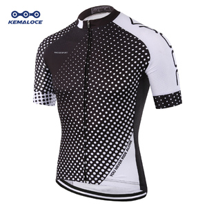 KEMALOCE Coolmax Plain MTB Cycling Jersey Equipment Tour De France Pro Bike Shirt Dry Fit Cool High Visibility Ciclismo Clothing