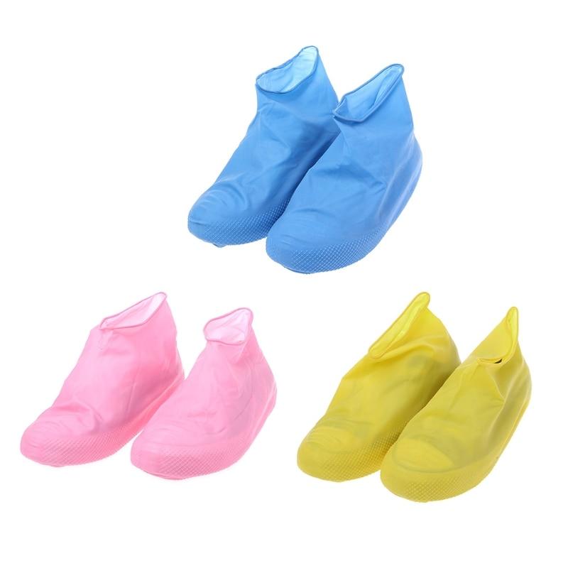 THINKTHENDO Single Use Latex Shoe Cover Waterproof Raining Disposable Outdoor Protector ToolTHINKTHENDO Single Use Latex Shoe Cover Waterproof Raining Disposable Outdoor Protector Tool
