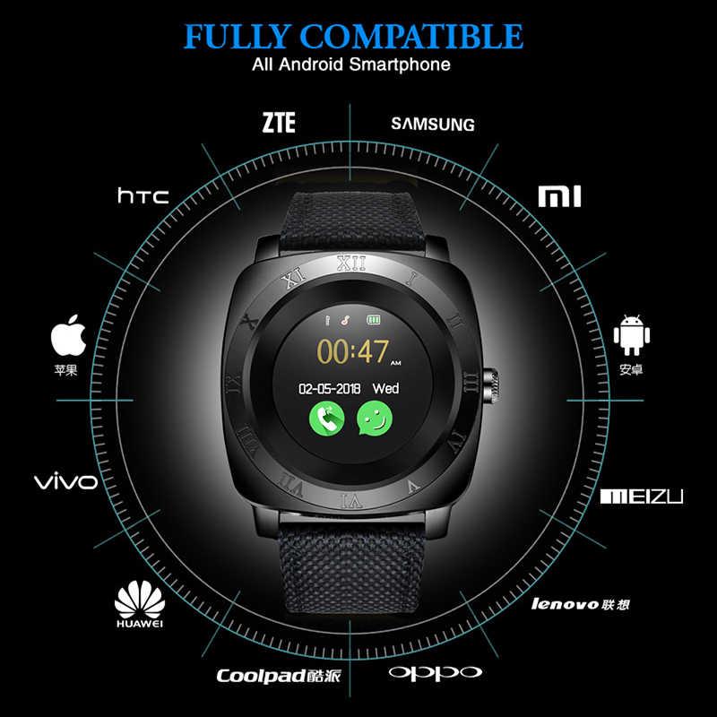 LIGE 2019 Новые смарт-часы мужские спортивные часы светодиодный цветной сенсорный экран Bluetooth Смарт-часы Поддержка sim-карты камеры музыкальный плеер