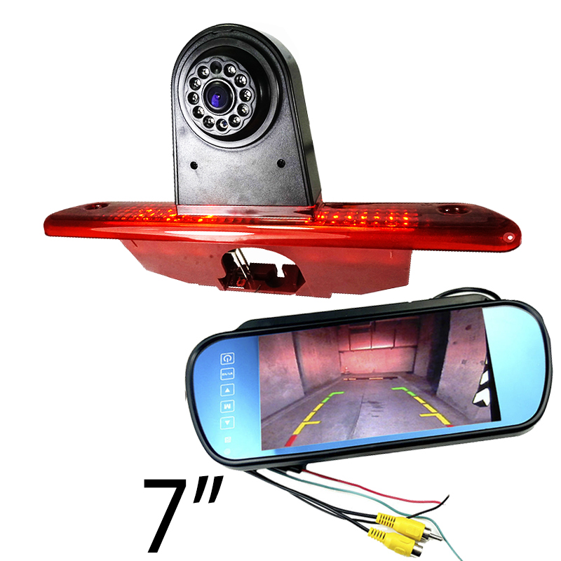 CCD Car Brake Light Rear View Camera For Citroen Jumpy/Peugeot Expert/ Toyota Proace 2007-2016 Reverse Camera Parking Monitor