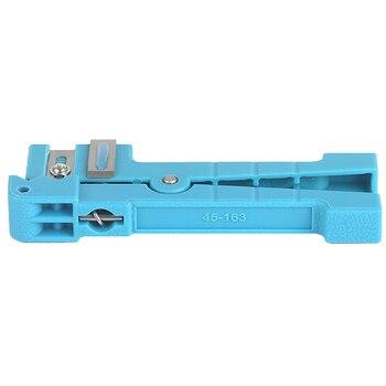 10pieces/lot Fiber Optic Stripper Ideal 45-163 Coaxial Cable Stripper / Fiber Optic Cable Stripper Free Shipping