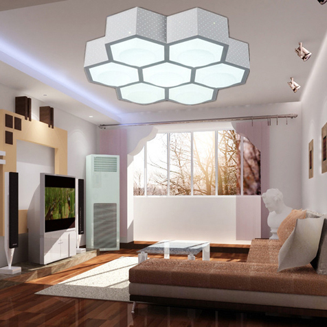 modern living room lighting 3 7 9 heads modern ceiling lights beehive led ceiling 12565