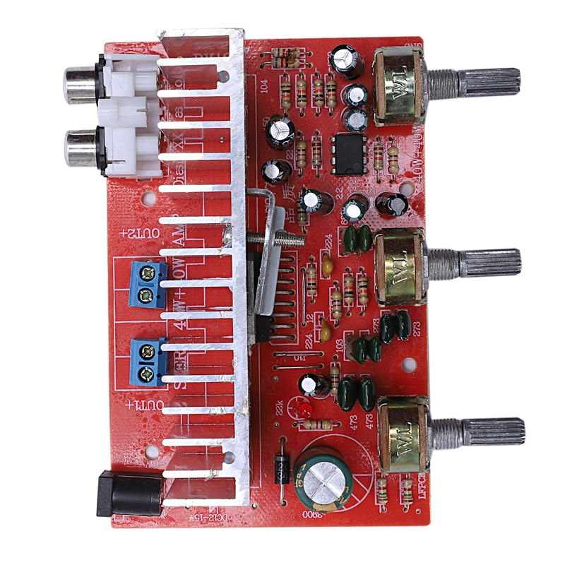 Tda7377 Digital Audio Amplifier Board 40Wx2 Dual Channel Stereo For Car Diy Speaker Dc12V E5-005