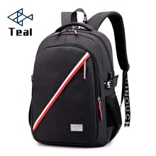 2019 Men's Backpacks Women Bolsa Mochila for Laptop 14inch Notebook Computer Bags Men Backpack School Oxford Black For Teenagers все цены