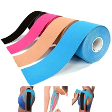 15 Color 100% Cotton Elastic Kinesiology Tape Knee Elbow Protector Adhesive Bandage Muscle Recovery Waterproof Breathable