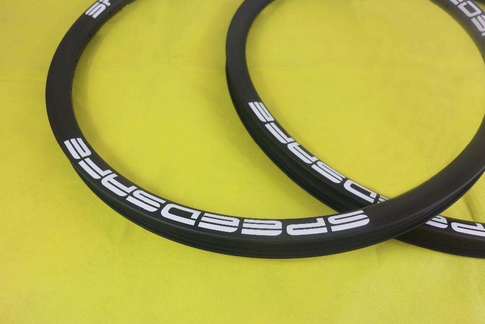 Speedsafe 27 5er MTB AM Enduro carbon rims UD matte 35mm hookless asymmetric 28mm inner width