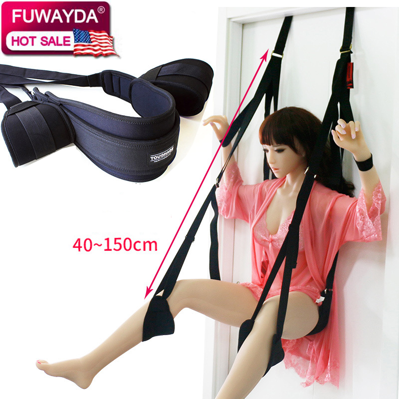 Bear 150KG Sex Love Flirt Erotic Aid Hanging Door Swing Adult Game Chair Sexual Toys Sex Furniture For Couple With Cushion