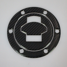Carbon Fiber Gas Tank Petrol Cap Cover Pad Protector Sticker Badge Decal for BMW R1200RT 05-09/R1200GS/ADV 04-07/R1200ST 05-08