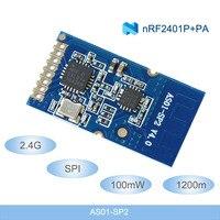 2,4G беспроводные радиочастотные модули 1200m дальние расстояния NRF24L01 + PA + LNA 2,4 ghz беспроводные модули 100mW SPI радиочастотный передатчик и приемни...