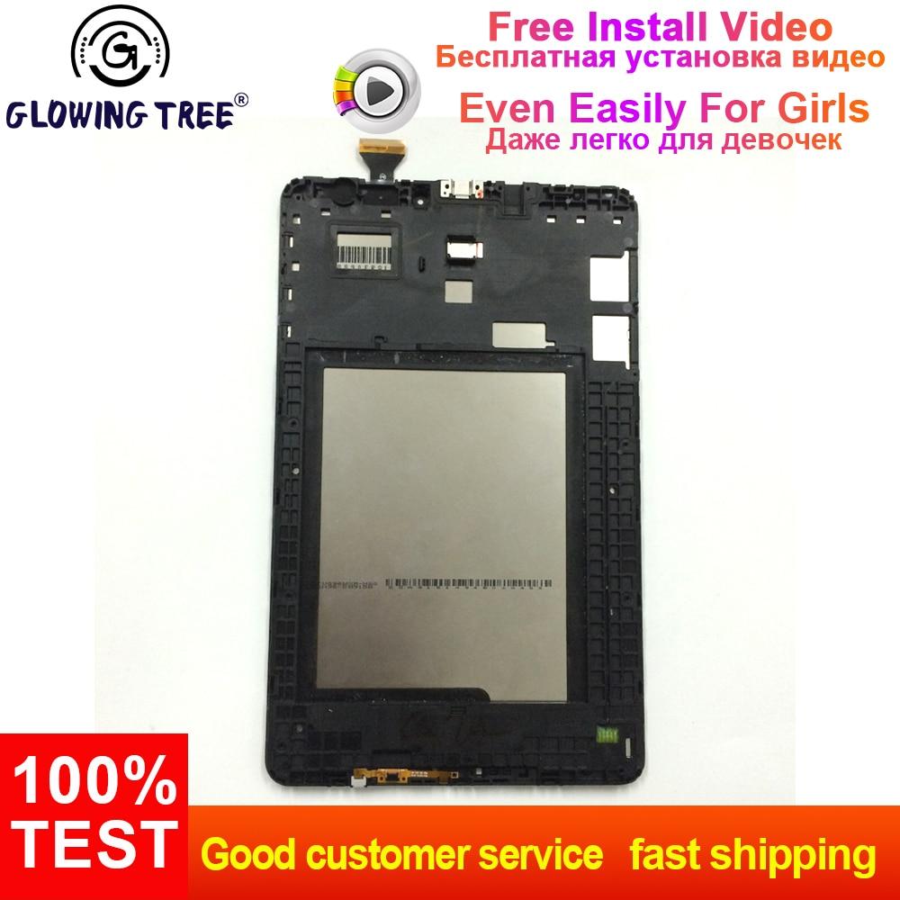 Per Samsung Galaxy Tab E 9.6 T560 SM-T560 SM-T561 Display LCD Monitor + Sensore di Tocco Digitale Dello Schermo di Montaggio TelaioPer Samsung Galaxy Tab E 9.6 T560 SM-T560 SM-T561 Display LCD Monitor + Sensore di Tocco Digitale Dello Schermo di Montaggio Telaio