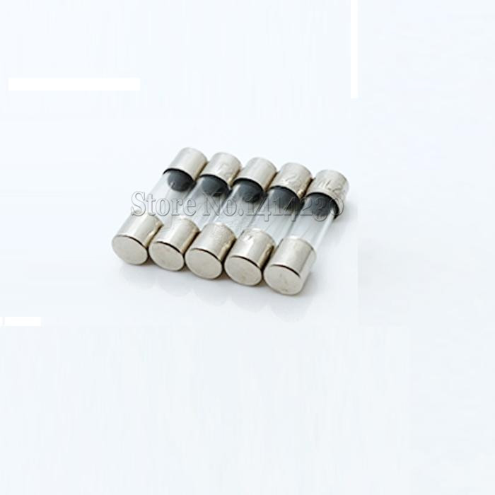 10Pcs 5x20mm Fast Quick Blow Glass Tube Fuse Assorted Kit Fuses 1A 2A 3A 5A 6A 8A 10A 12A 15A 20A/250V 5*20 mm