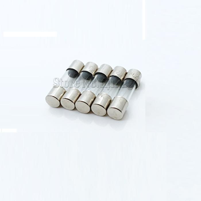 10Pcs 5x20mm Fast Quick Blow Glass Tube Fuse Assorted Kit Fast Blow Glass Fuses 1A 2A 3A 5A 6A 8A 10A 12A 15A 20A/250V 5*20 Mm
