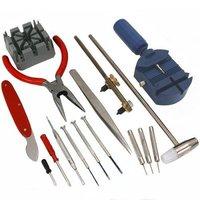 Инструменты для часов 16 шт. набор инструментов для ремонта часов запасные части часы DIY инструмент для диагностики часы инструмент для ремо...
