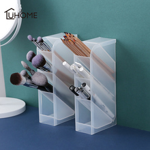 Creative Multi-function 4 Grids Desktop Storage Box Case Grid Sub-grid Make Up Cosmetic Holder Desk Pen Pencil Organizer