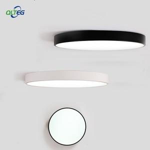 Image 2 - QLTEG رقيقة جدا سقف ليد حديث ضوء زينة للسقف تركيبات غرفة نوم مصباح سقفي لغرفة المعيشة 5 سنتيمتر عالية
