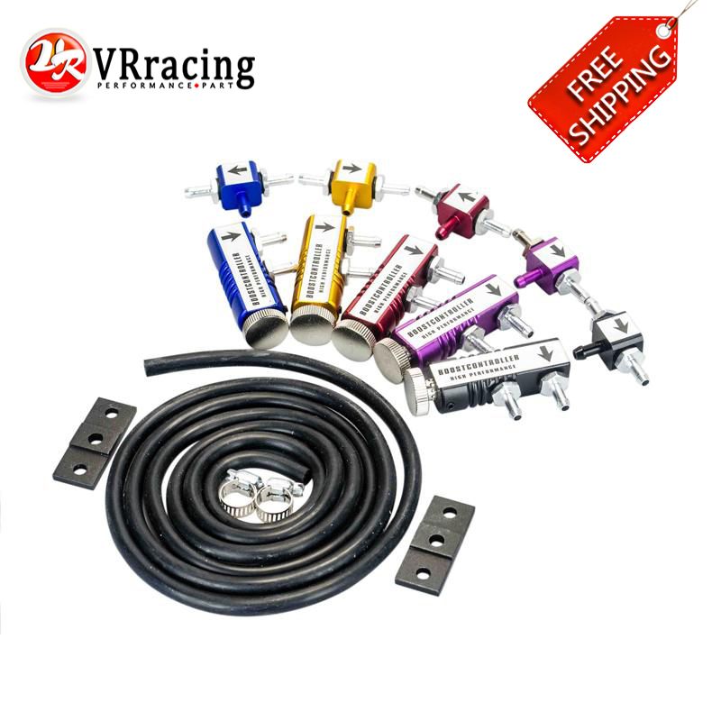 FREE SHIPPING UNIVERSAL ADJUSTABLE MANUAL TURBO BOOST CONTROLLER KIT 1-30 PSI IN-CABIN BOOST CONTROL VR3123
