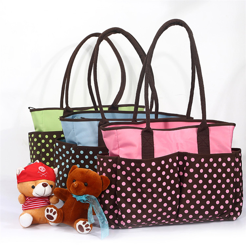 diaper bags designer cheap 56il  Cheap Dot Baby Stroller Bags Diaper Bag Mother Messenger Bag Fashion  Waterproof Maternity Tote Nappy Bags