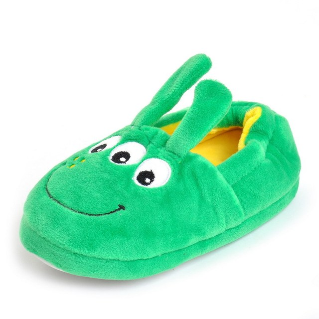 Children Winter Slippers Boys Girls Household Cotton Shoes Cartoon ...