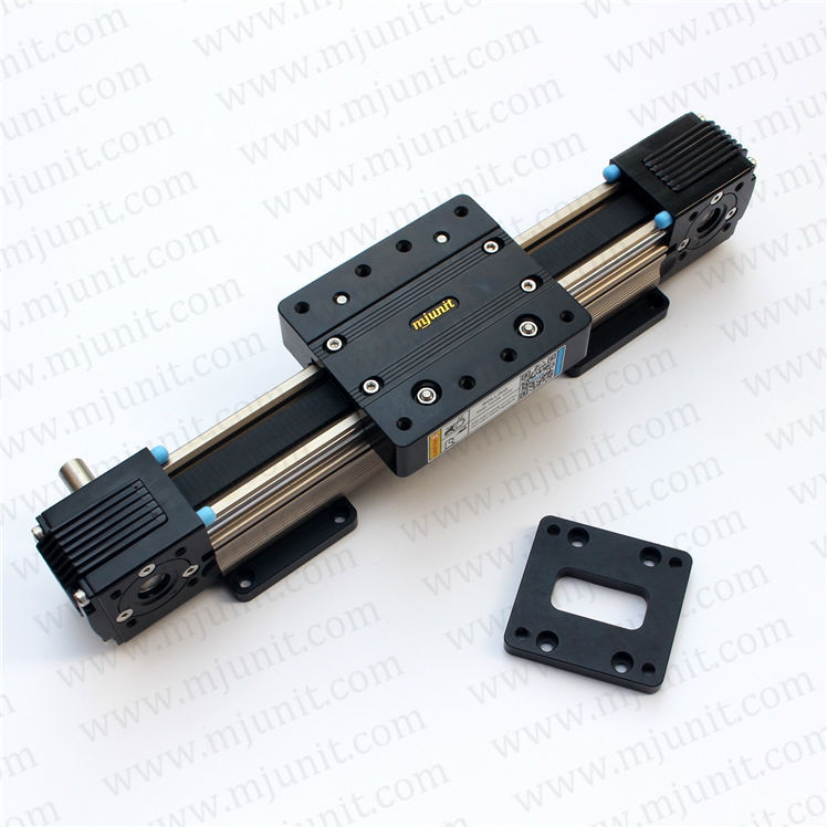 ball linear rail   guide roller shaft  guideway toothed belt driven linear guide rail high precision laser guide actuator la31 toothed belt driven