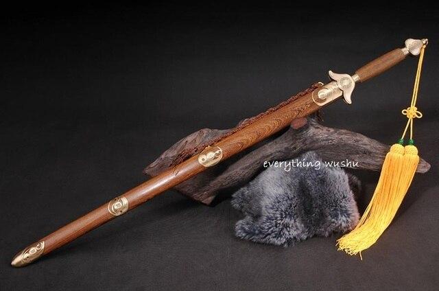 Стандартный тай-чи Мечи занятий Цзянь прямые Мечи тайцзи Цзянь Longquan меч