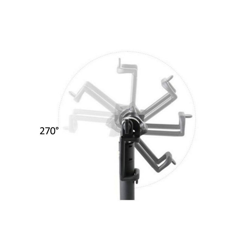 3.5mm Portable Wired Selfie Stick For 6 6s plus For Samsung Xiaomi Smartphone Telescopic Rod 20cm-80cm Range Selfie Stick