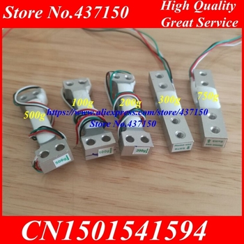100g 200g 300g 500g 750g 1kg 2kg 3kg 5kg 10kg 20kg Electronic Scale Aluminum Alloy Weighing Sensor Load Cell Weight sensor hx711