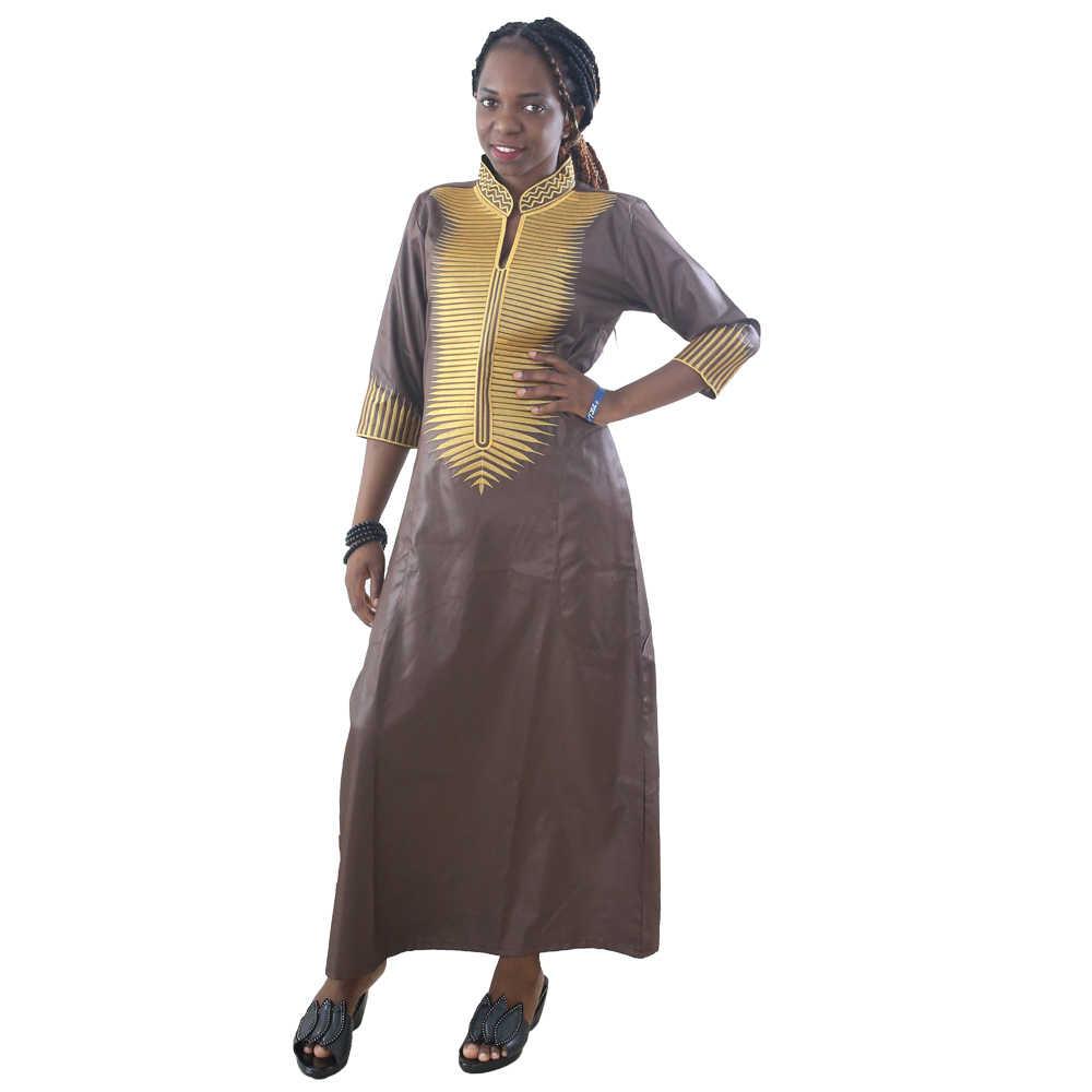 MD 2020 שמלות אפריקאיות נשים דאשיקי שמלות נשים מקסי שמלת אפריקאי רקום שמלות דרום אפריקאי מסורתי ללבוש