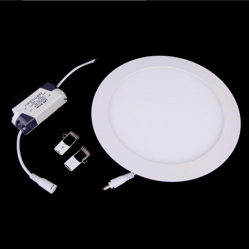 Free shipping (2pcs/lot) SMD 2835 led light 85-265vac led ultrathin 18w PANEL LIGHT recessed led downlight 18w ceiling led light