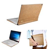 Genuine Leather Case for Microsoft Surface Book 13.5 inch Anti Shock Protetcive Leather Shell for Surface book Real Leather Case