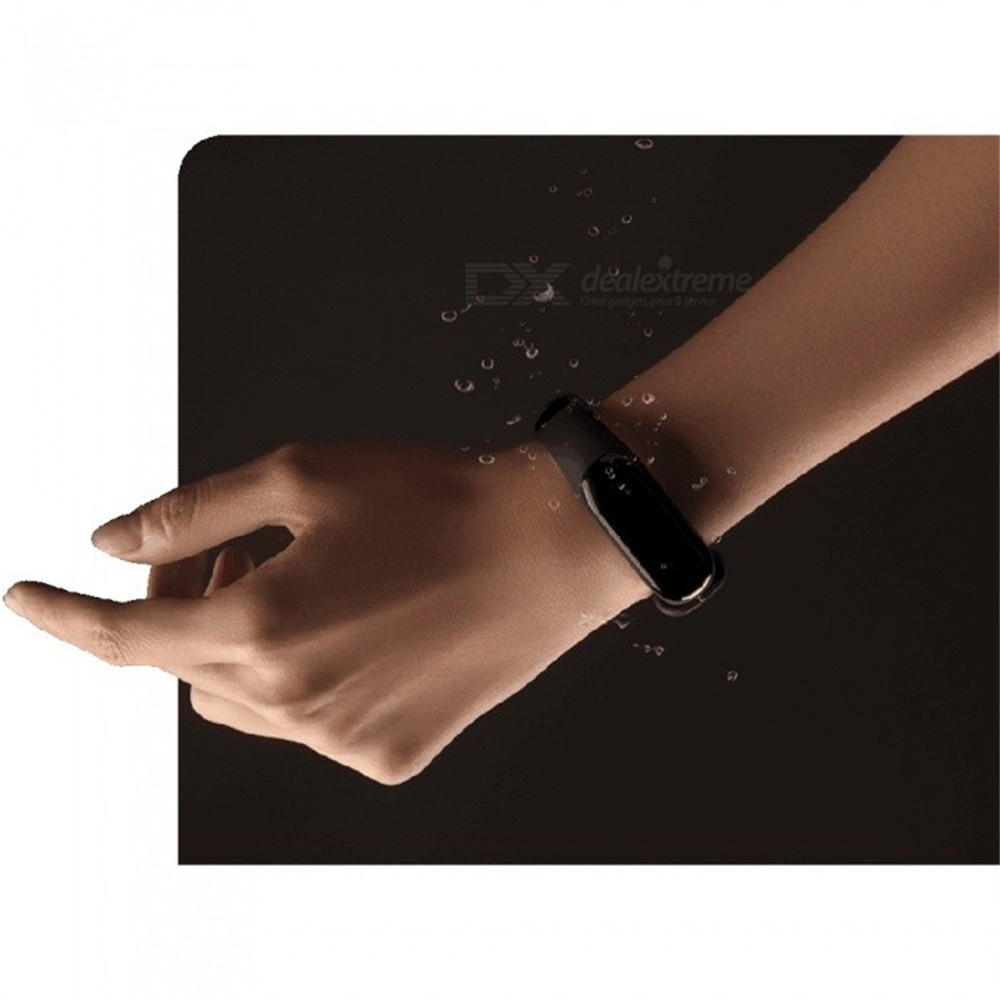 Image 5 - Global Version Xiaomi Mi Band 3 Miband 3 Smart Tracker Band Instant Message 5ATM Waterproof OLED Touch Screen Mi Band 3-in Smart Wristbands from Consumer Electronics