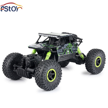 RC Car 2 4GHz 1 18 Scale 4WD Rally Car Rock Crawlers Double Motors Bigfoot Car