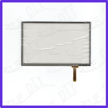ZhiYuSun AI2583  5inch Touch Screen glass 4 lines  resistive  touch panel   SCREEN sensor zhiyusun for avh x1600dvd 6inch 4 wire resistive touch panel for car dvd gps navigator screen glass