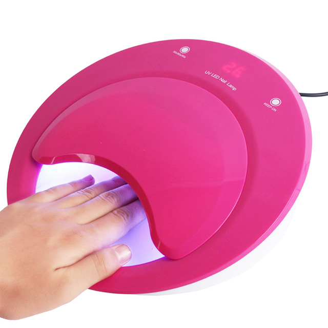 40w Uv Led Nail Lamp Gel Polish Manicure Tools Salon Dryer Machine For Drying All
