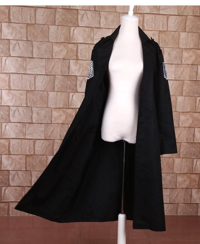 ikinci dörddəbir Titan cosplay paltosuna hücum. İstintaq əsgəri - Karnaval kostyumlar - Fotoqrafiya 3