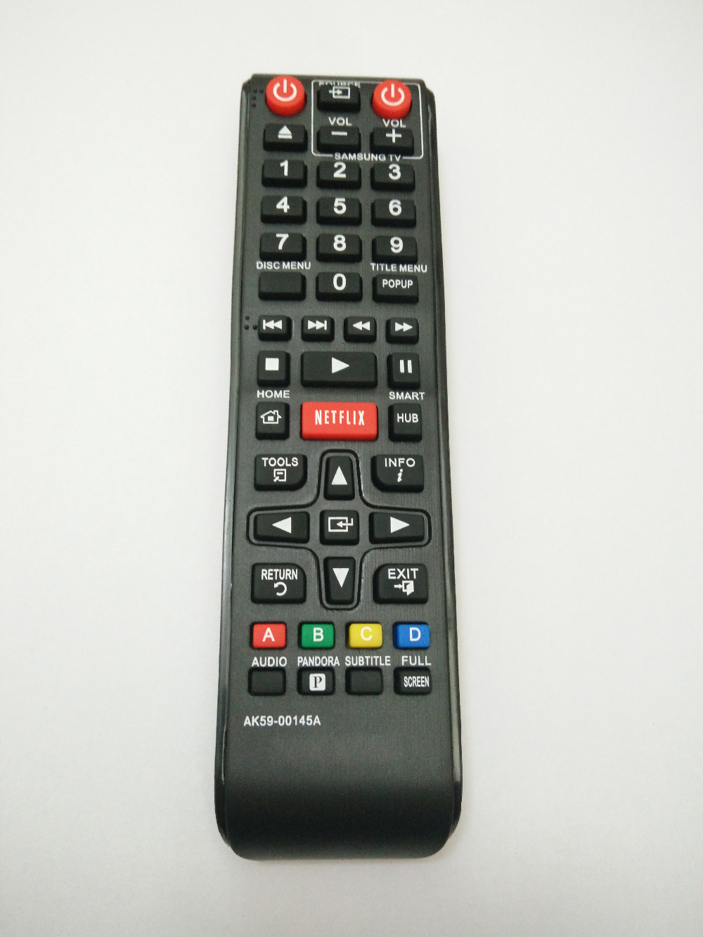 New <font><b>Replaced</b></font> AK59-00145A Remote Control for Samsung BDF5700 BD-P1400 BD-P2500 BD 3D Full HD <font><b>Blu-Ray</b></font> <font><b>Disc</b></font> DVD Player