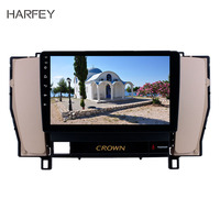 Harfey 9 Inch Android 8.1 Car GPS radio For Toyota old crown 2010 2014 left hand Autostereo Steering Wheel Control mirror link
