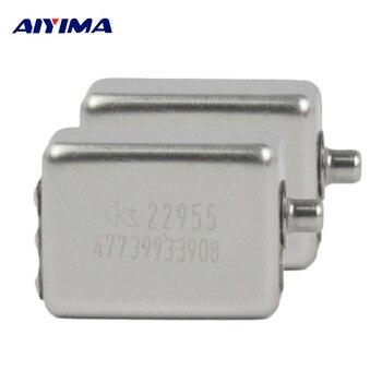 AIYIMA 2 шт. мини динамический Железный клаксон колонки CI-22955 слуховые аппараты динамик для E5C/UM2/UM3X низкочастотный подвижный Железный Динамик уха