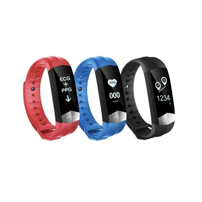 Bluetooth Smart Wristband, Sports Smart Bracelet Sleep Heart Rate Monitor Fitness Tracker, Smartband for iOS Android Smartphone